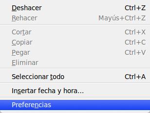 menu editar quice85